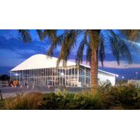 Large Curve Outdoor Event Tents Max. wind load: 80~100km/h Fame Retardant to DIN4102 B1 Manufactures