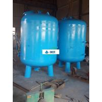 Industrial Water Treatment Equipment Silica Sand Water Filter ISO 9001 Approval Manufactures