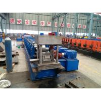 4mm Thickness U Section Guardrail Roll Forming Machine / Profile Roll Forming Machine Manufactures