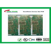 PCB Design And Fabrication PCB Engineering 6 Layer Hard Gold Surface Treatment Manufactures