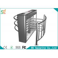 Half Full Height Turnstiles Especially Suitable For Factory External Facilitices Manufactures