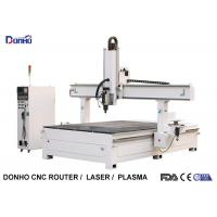 Styrofoam Model Engraving 4 Axis CNC Router Machine With T-slot Table HSD Spindle Manufactures
