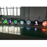 Buy cheap Digital Round Led Display Logo Sign Screen Dual Sided For Store / Bar Advertisin from wholesalers