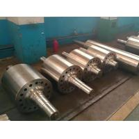 Smooth Alloy Steel Casting Parts Steel Wheel mill Roller With Quenching And Tempering Heat Treatment Manufactures