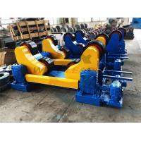 Standard 20 Ton Industrial Pipe Welding Rotator PU Rollers For 20m Pipes Welding Manufactures