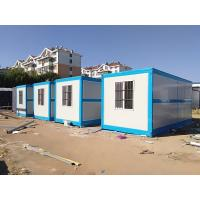 Heat Insulated Modular Shipping Container Homes Customized Design 30 Years Life Span Manufactures