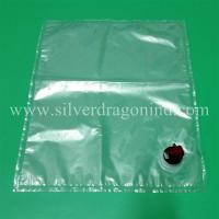 Clear bag in box with butterfly tap for 10L water packing Manufactures