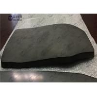 NIJ III Lightweight Bulliteproof Ballistic Tiles , Single Curve Pure Armored UHMWPE Plate Manufactures
