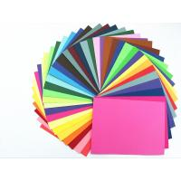 Colored Paper Packaging Materials 100% Wood Pulp Smooth Surface Folding Resistance Manufactures