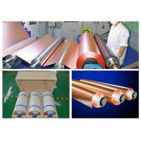 HTE RA PCB Copper Foil 76mm / 152mm Inter Dimater 0.009 - 0.09mm Thickness Manufactures