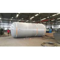 China Carbon Steel Pressure Tank , Vertical Horizontal Type Liquid Storage Tank on sale