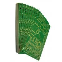 Buy cheap Rigid Printed Circuit  Boards FR4 Material Green Solder Mask Surface Finishing Immersion Gold White Silkscreen from wholesalers