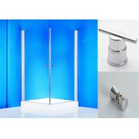 Quality Clear Glass Shower Screen Pivot Shower Enclosure with Rotated Profile for sale
