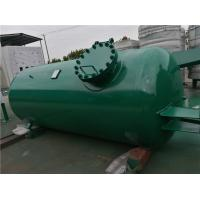 High Pressure Gas Storage Tanks For Emergency Oxygen Horizontal Low Alloy Steel Material Manufactures