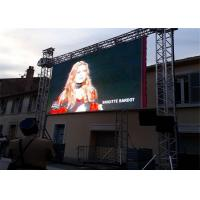 Commercial Center P3.91 ICN2153IC Outdoor Rental LED Display For Advertising High Brightness 6500cd/sqm Manufactures