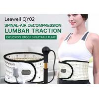 Inflated Decompression Back Belt Manual Pump Inflate Long Lifespan Lightweight Manufactures