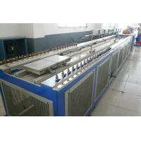 Double Screw Extruder Wood Plastic PVC Extrusion Line For Kitchen Cabinet Board Manufactures