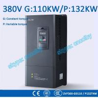110kw 132kw motor pump 50Hz/60Hz AC drive CNC Variable-Frequency Drive VFD AC-DC-AC Low Voltage frequency converter Manufactures