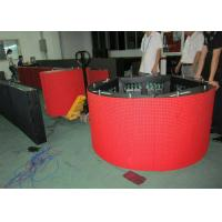 360 Degree P10 Curved Led Screen High Resolution CE / ROHS / FCC Manufactures