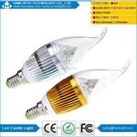 High Power 4W LED Candle Light Bulbs CRI 80 for living room Manufactures