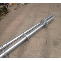 Durable Helical Pile Foundations / Helical Anchors For Support Existing Structures Manufactures