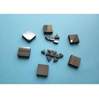 Wood Woking Stone Metal Cutting PCD Die Blanks , Tips Inserts PCD Square Blanks For Cutting Stone Manufactures
