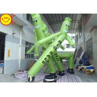 20ft Tall Air Dancer Inflatable Advertising Sky Man Ripstop Oxford Nylon Silk With Added Tarpaulin Manufactures