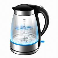 Buy cheap Electric glass kettle/glass kettle/transparent glass body electric kettle from wholesalers
