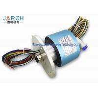 300RPM High Precision Hybrid Slip Rings With 10-12mm Tube Size , Long Life Time Manufactures