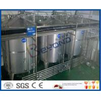8000 - 10000BPH Functional Beverage Soft Drink Production Line With Bag Type Duplex Filter Manufactures