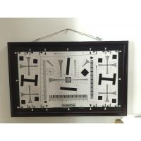 iso 12233 2000 lines cctv camera test chart resolution test chart on paper and glass (chrome print) 200mm*356mm 16:9 Manufactures