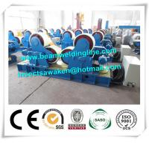30T Pipe Welding Rotator / Manipulator , Pipe Engineering Welding Turning Roller Manufactures