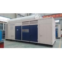 Energy Saving Air Cooled CNG Station Compressor With 3M3 Gas Bottle Manufactures