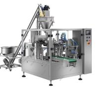 Custard Powder Automatic Packing Machine , Vertical Granule Filling Machine For Pouch Manufactures