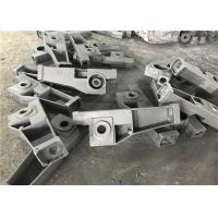 Black Painting Grey Iron Casting Process Machine Frame Parts For Industrial Manufactures