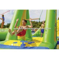 Quality Commercial Inflatable Water Games Rentals , Yellow / Red Inflatable Swing for sale