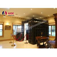 Trade Show Equipment Inflatable LED Photo Booth Rental For Advertising Manufactures