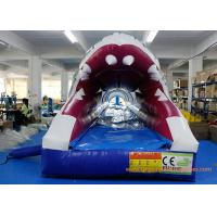 PVC Tarpaulin Shark Commercial Or Personal Large Inflatable Slide ROSH Manufactures