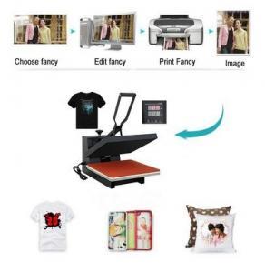 TRANSFER 38x38 Sublimation t-shirt Heat Press Transfer Printing Machine Product Description Model38*38CM40*60CM Manufactures