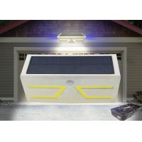Low Wattage Motion Sensor Solar Lights Outdoor , Solar Powered Outside Security Lights Manufactures