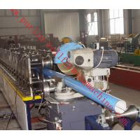Lock Seam Roll Forming Machine Color Steel Coils For Rainwater Downpipe / Rain Gutter Manufactures