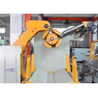 Coil Car Loading Stainless Steel Uncoiling Machine With Pneumatic Pressing Arm Manufactures