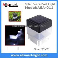 2''x 2'' Inch Square Solar Fence Post Cap Light For Iron Fences Pool Boundary And Residential China Manufacturer Manufactures