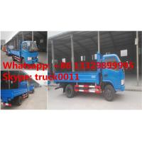 Quality hot sale 2017s cheapest price CLW4020 cargo truck, factory sale best price CLW brand diesel 3-4tons mini cargo truck for sale