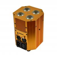 China 4X4W 4IN1 Battery Powered & IR Remote LED Stage Light uplight on sale