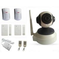 Indoor Dome IP Camera Remote control home security alarm system Manufactures