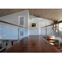 Customized Height Stainless Steel Glass Railing Post Balustrade Easy Installation Manufactures