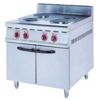 Quality Western Kitchen Equipment Electric 4 / 6 Head Hot Plate Cooker With Oven ZH-TE-4 for sale