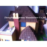 PPGI Color Stone Coated Roof Tile Machine Steel Roofing Sheet Making Machine Manufactures