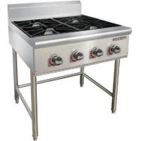Combination Chinese Cooking Stove Gas Cooker Gas Griddle Gas Charbroiler Manufactures